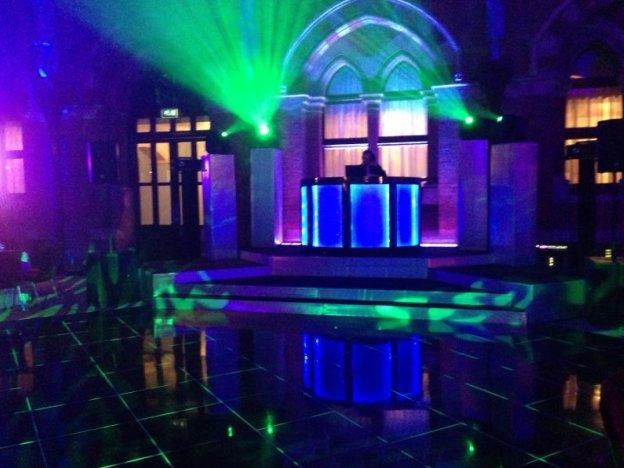 Black Dance Floors