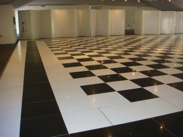 Chequered Floor Hire