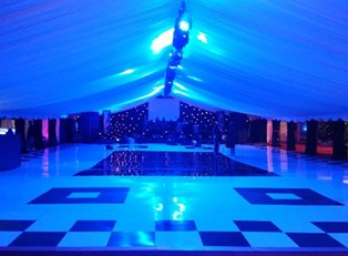 London Night Fever Dance Floor Hire Services