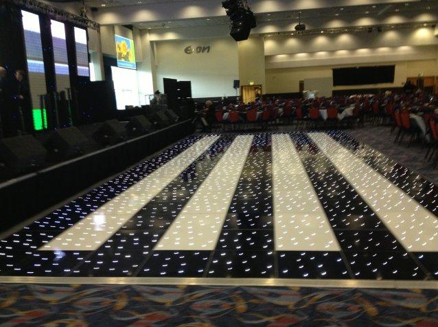 LED Dance Floors for UK Hire