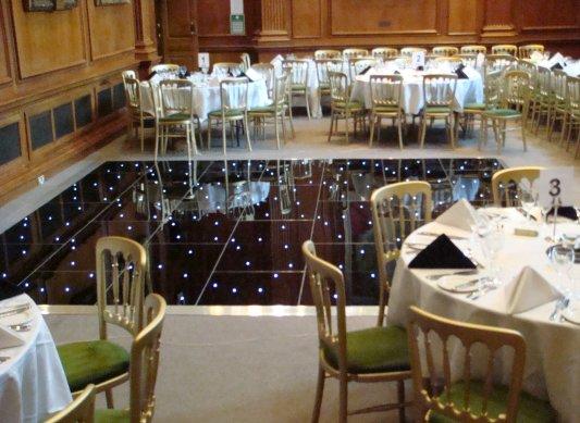 LED Lit Dance Flooring Hire in London