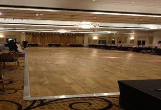 Oak Parquet Flooring Hire and Rental