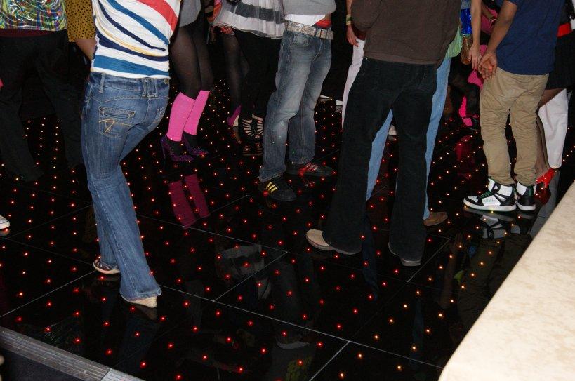 Colour Changing Pixel Dance Floor