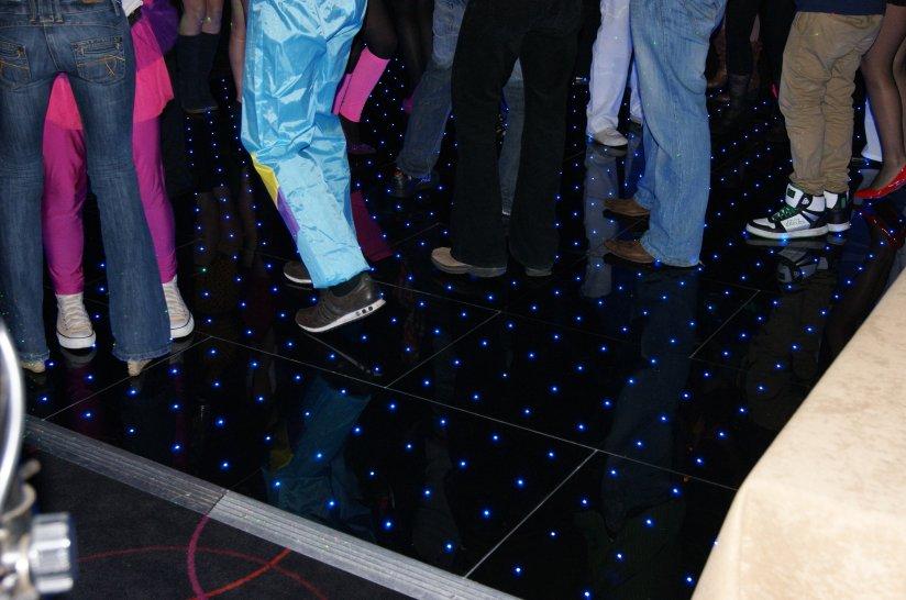 LED Pixel Retro Dance Floor Hire