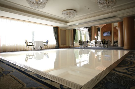 White Dance Flooring Hire in London